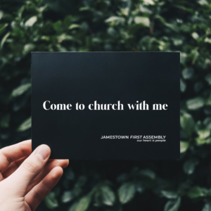 Come to church with me invite