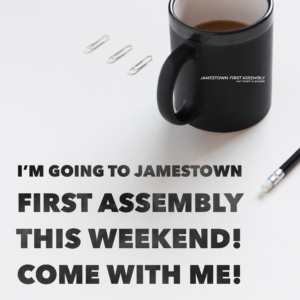 Come to Jamestown First Assembly logo